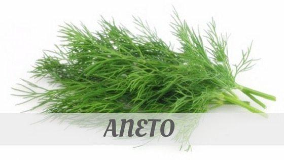 How Do You Pronounce Aneto?