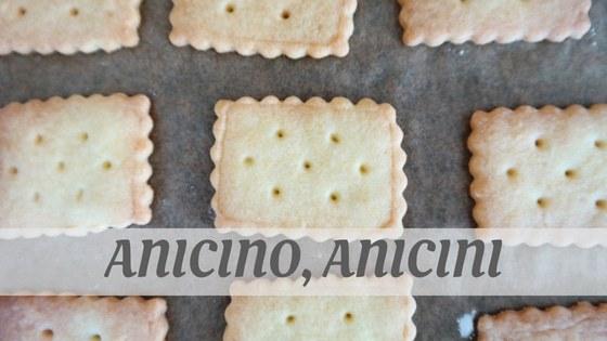 How Do You Pronounce Anicino, Anicini?