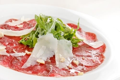 How To Say Carpaccio?