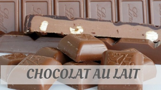 How Do You Pronounce Chocolat Au Lait?