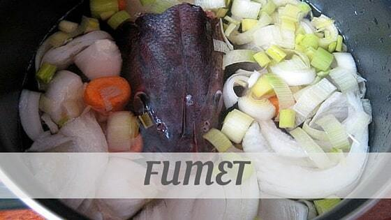 How Do You Pronounce How To Say Fumet?