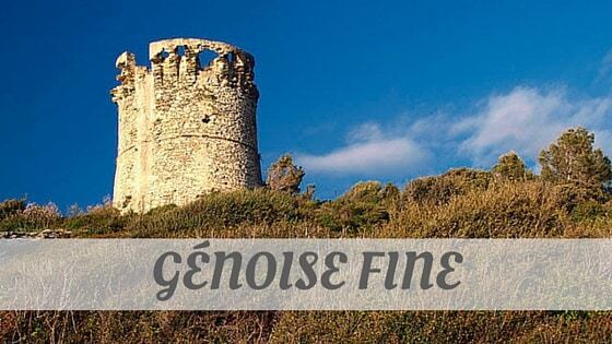 How Do You Pronounce Génoise Fine?