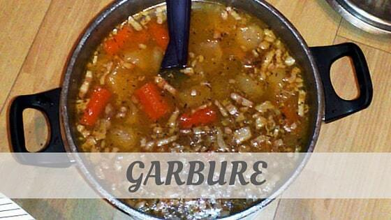 How Do You Pronounce Garbure?