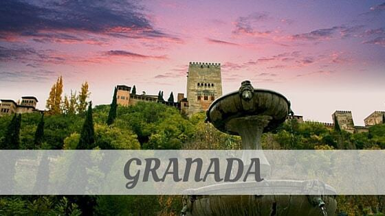 How To Say Granada