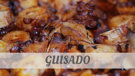How To Say Guisado