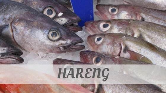 How To Say Hareng
