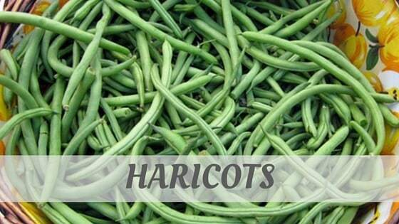 How Do You Pronounce Haricots?