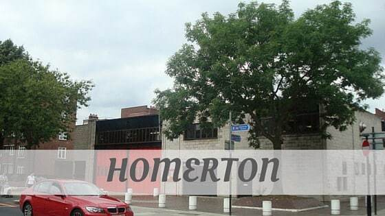 How To Say Homerton