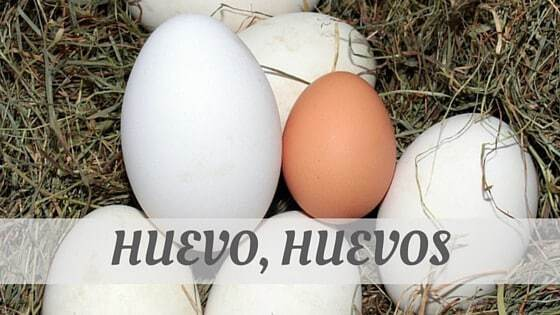 How Do You Pronounce Huevo, Huevos?