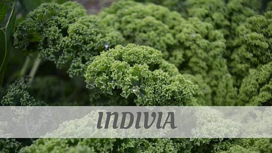 How Do You Pronounce How To Say Indivia?