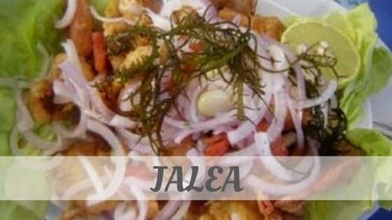 How To Say Jalea