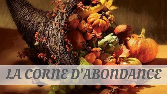 How To Say La Corne D'abondance?