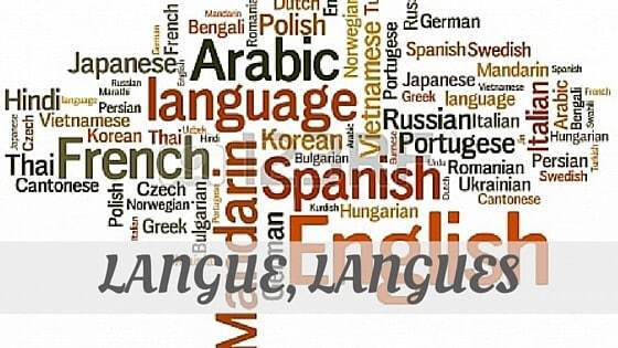 How To Say Langue