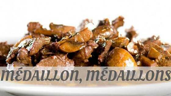 How To Say Médaillon