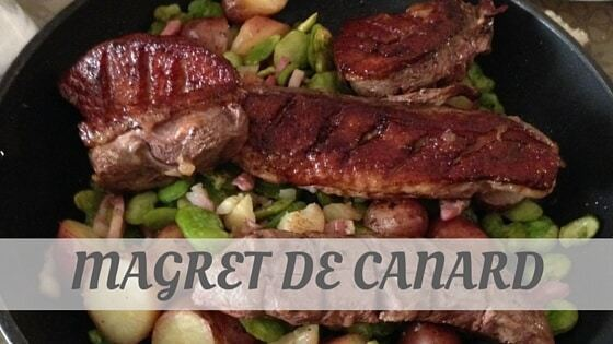 How To Say Magret De Canard?