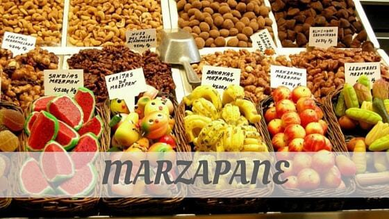 How To Say Marzapane