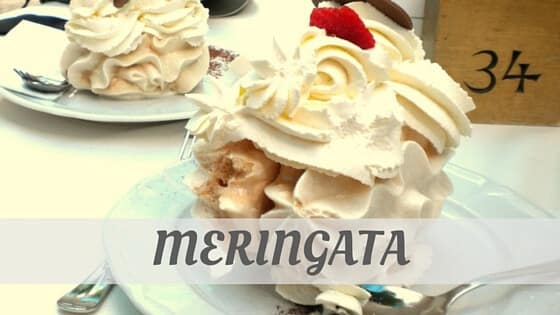 How Do You Pronounce Meringata?
