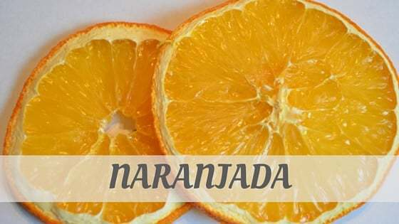 How To Say Naranjada