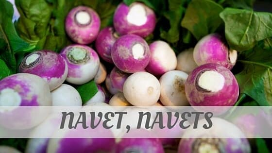 How To Say Navet
