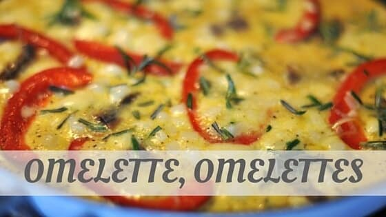 How To Say Omelette