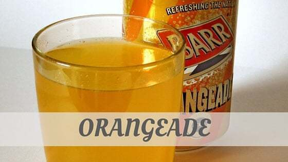 How To Say Orangeade