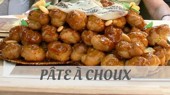 How To Say Pâte À Choux