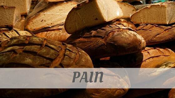 How To Say Pain
