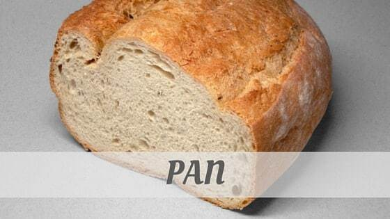 How To Say Pan?