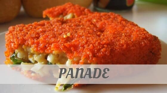 How Do You Pronounce Panade?