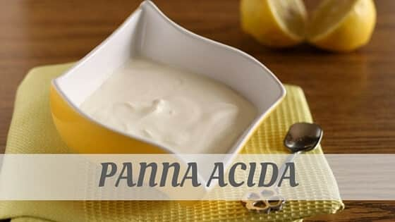 How Do You Pronounce Panna Acida?