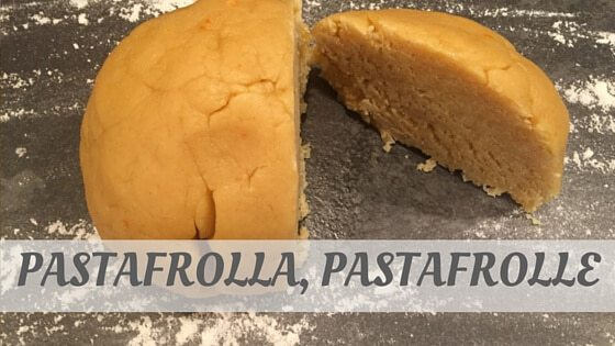 How To Say Pastafrolla