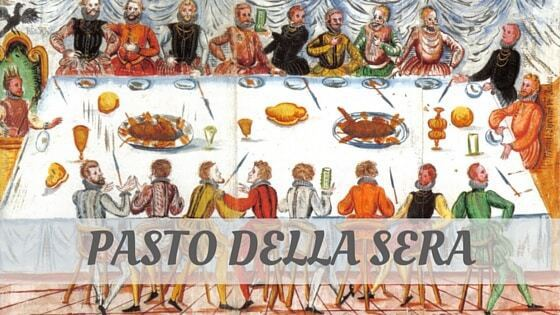 How Do You Pronounce Pasto Della Sera?