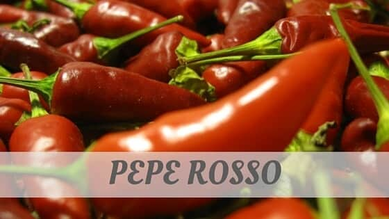 How Do You Pronounce Pepe Rosso?