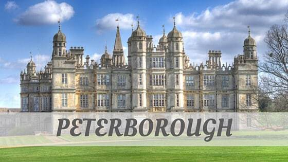 How To Say Peterborough?