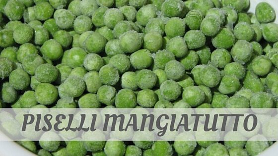 How To Say Piselli Mangiatutto