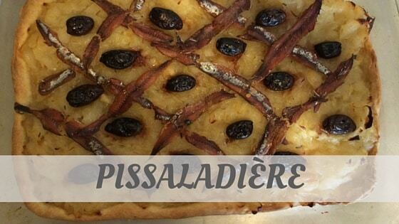 How To Say Pissaladière?