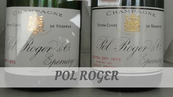 How Do You Pronounce Pol Roger?