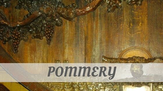 How Do You Pronounce Pommery?