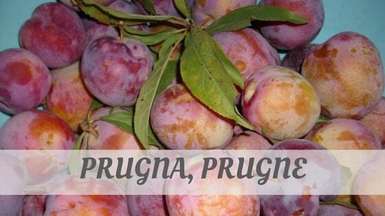 How Do You Pronounce How To Say Prugna, Prugne?