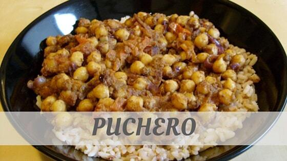 How Do You Pronounce Puchero?