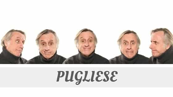 How To Say Pugliese?