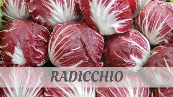 How To Say Radicchio