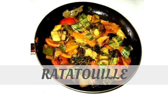 How To Say Ratatouille