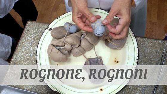 How To Say Rognone