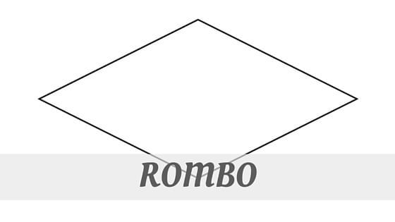 How To Say Rombo