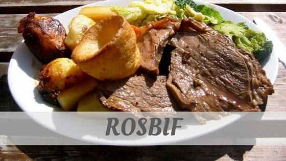 How Do You Pronounce Rosbif?