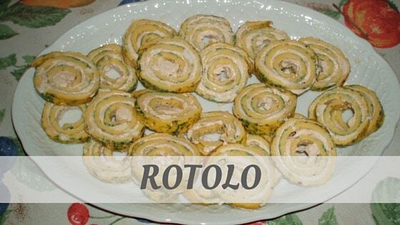 How To Say Rotolo