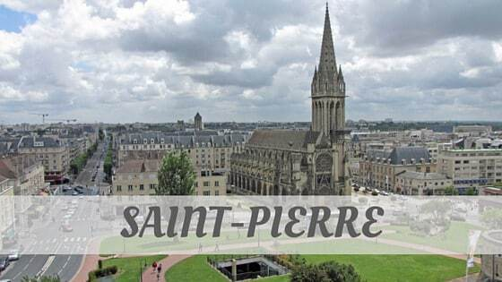 How To Say Saint Pierre