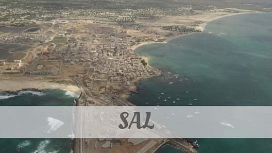 How To Say Sal?