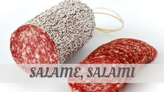 How To Say Salame